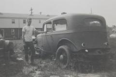 1933 Chev Brad Standing