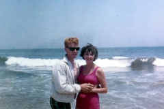 Brad and Peggy At Beach