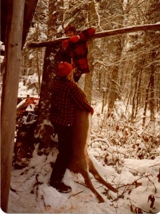 Jamie Hanging Fresh Doe