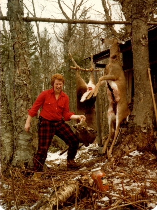 John by Deer Pole