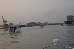 Fleet Leaving Baltimore