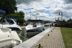 Kanes in Chambly Canal