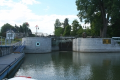 Southbound Lock Entry