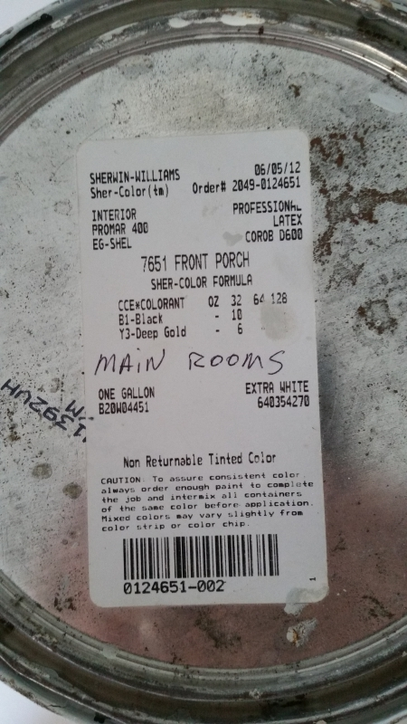 Main Rooms Label Egg-Shell
